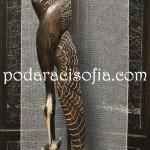 Дървена пластика на жерав с разперени криле от магазин за подаръци Gifts