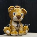 Плюшена играчка - лъв, за подарък за Св. Валентин