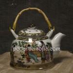 Чайник я японски стил от порцелан