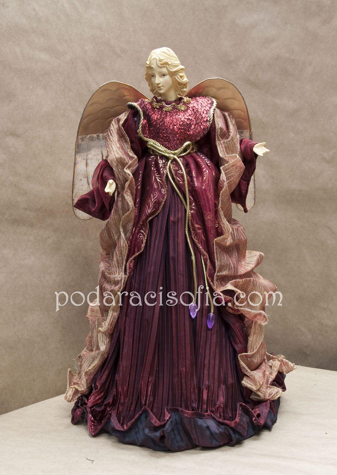 Изящна коледна украса Фигура на ангел от магазин за подаръци Gifts