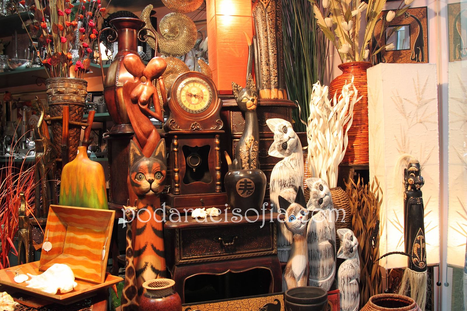 Дървени пластики и фигури
