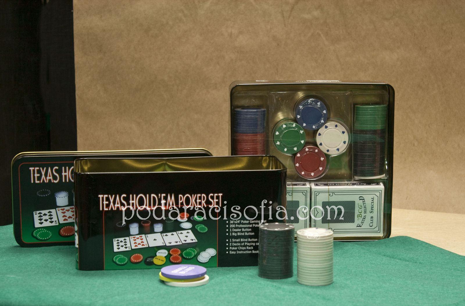 Игра покер за подарък за мъж от магазин за подаръци Gifts