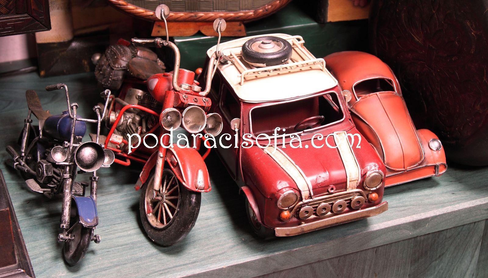 Ретро коли и моторчета за подарък за мъж