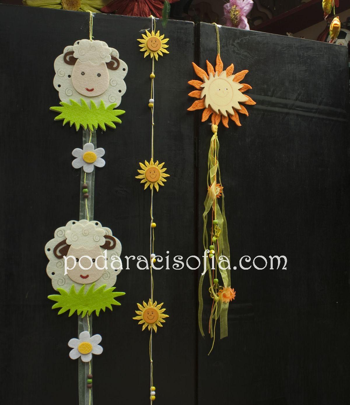 Висяща украса за Великден и за детска стая от магазин за подаръци Gifts