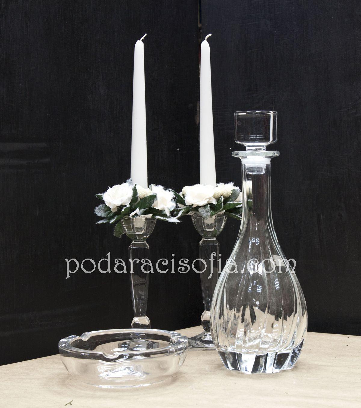 Кристални аксесоари за подарък и декорация на дома от магазин за подаръци Gifts