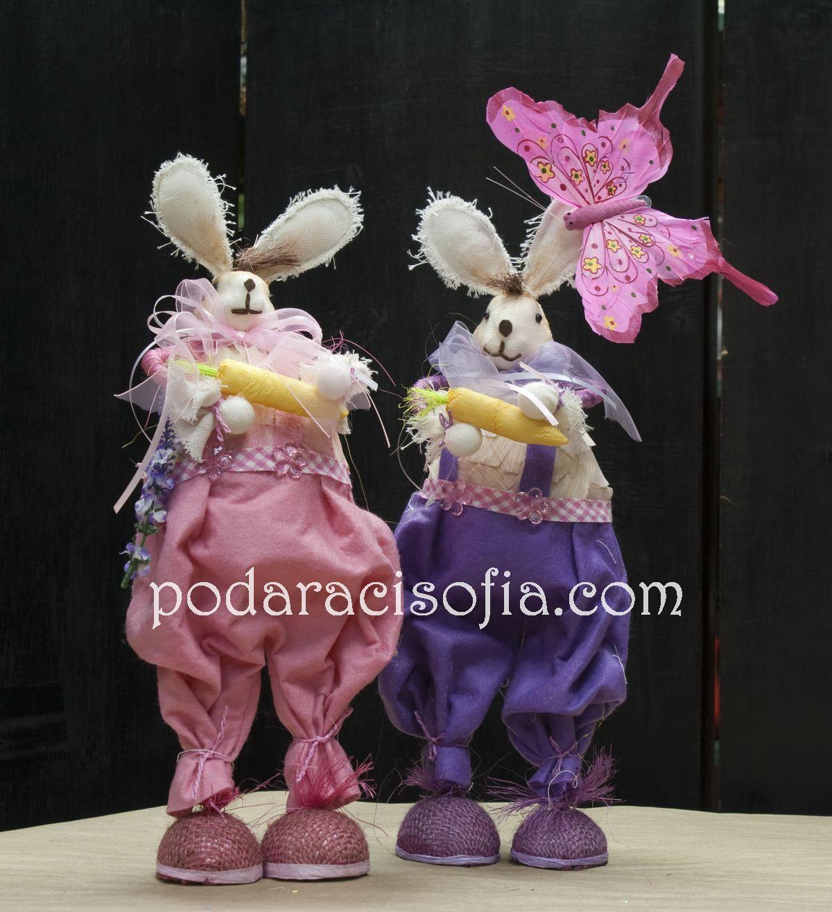 Розови Великденски зайци от Gifts