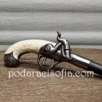 Бастун с нож и дръжка като пистолет от Gifta