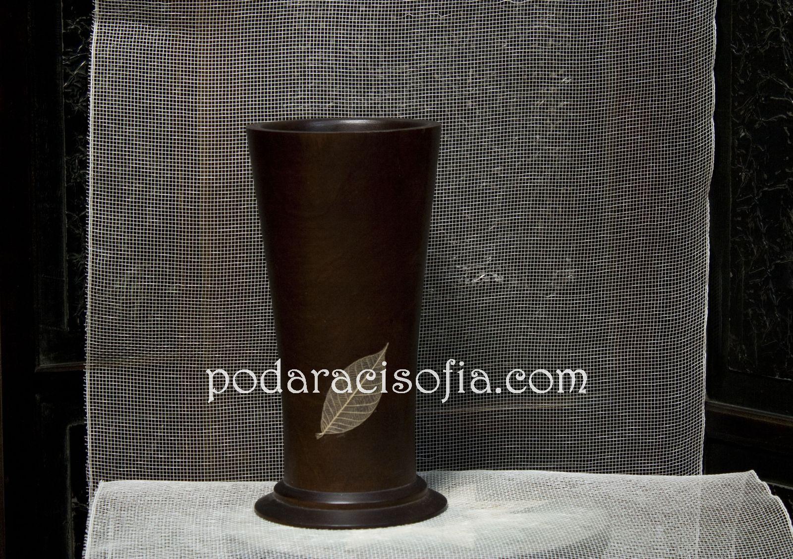 Етно ваза от керамика с декорация от Gifts