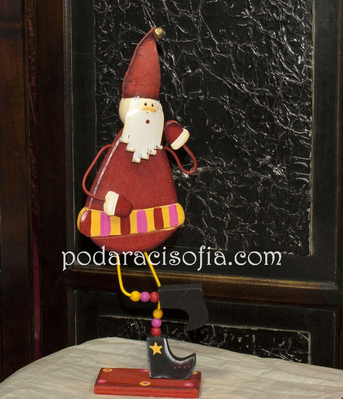 Артистичен Дядо Коледа от дърво от Gifts
