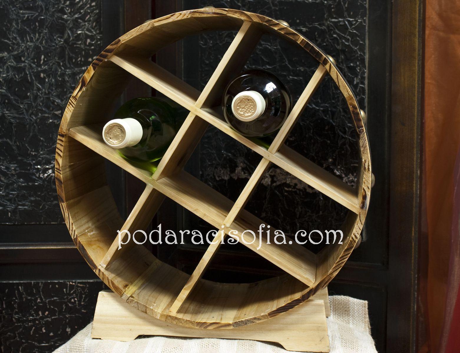 Стойка за бутики вино в кръгла форма от от Gifts