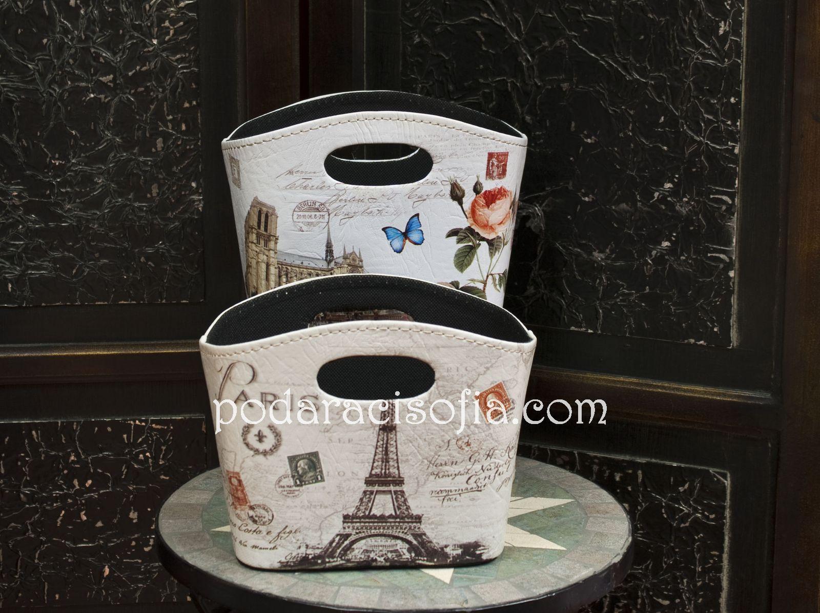 Кошница с Айфеловата кула – френско, стилно, закачливо.